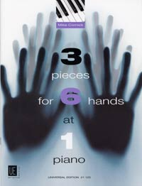 3 pieces for 6 hands at 1 piano image